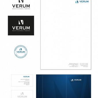 Advokatų kontora. Sukurtas naujas logotipas atspindi įmonės vertybes.