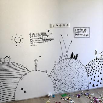 Piešiniai ant sienų/sienų tapyba / Laura Jakutiene / Darbų pavyzdys ID 636991