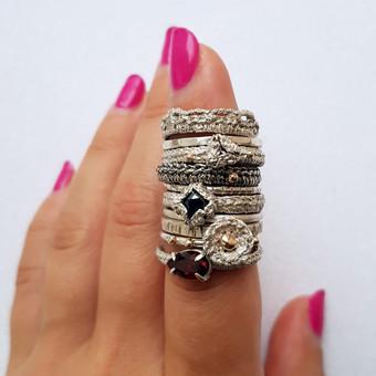 moov jewelry papuošalai iš sidabro, aukso / Vlada D. / Darbų pavyzdys ID 637419