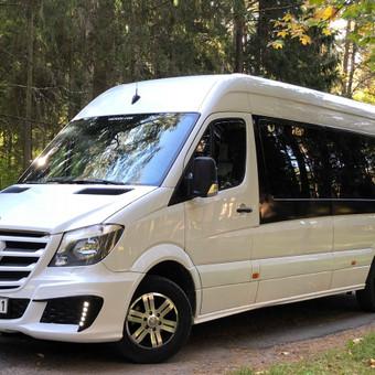 """Keleivių pervežimas ( mikroautobusų nuoma) / Mikroautobusų Nuoma, UAB """"Važiuok"""" / Darbų pavyzdys ID 641527"""