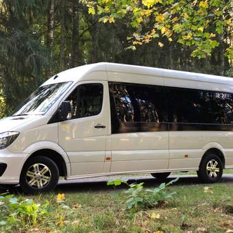 """Keleivių pervežimas ( mikroautobusų nuoma) / Mikroautobusų Nuoma, UAB """"Važiuok"""" / Darbų pavyzdys ID 641533"""