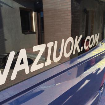 """Keleivių pervežimas ( mikroautobusų nuoma) / Mikroautobusų Nuoma, UAB """"Važiuok"""" / Darbų pavyzdys ID 641537"""