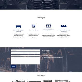 Svetainių kūrimas, web aplikacijų kūrimas / Vaidas Jokubauskas / Darbų pavyzdys ID 641547