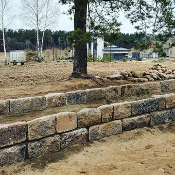 Akmens mūro darbai, Šlaitų ir pakrančių tvirtinimas,Gabion / Saulius / Darbų pavyzdys ID 641667