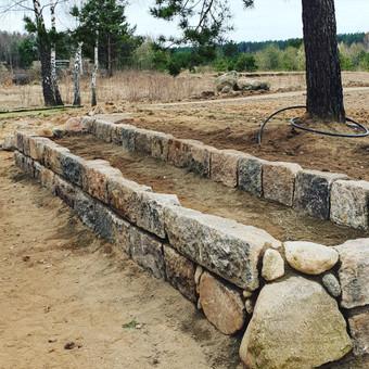 Akmens mūro darbai, Šlaitų ir pakrančių tvirtinimas,Gabion / Saulius / Darbų pavyzdys ID 641669