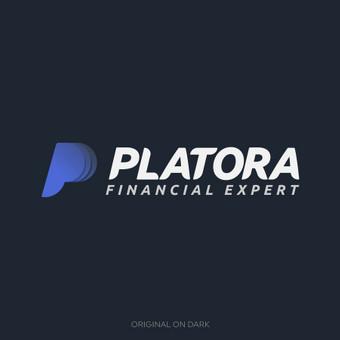 Platora - Financial expert   Logotipų kūrimas - www.glogo.eu - logo creation.