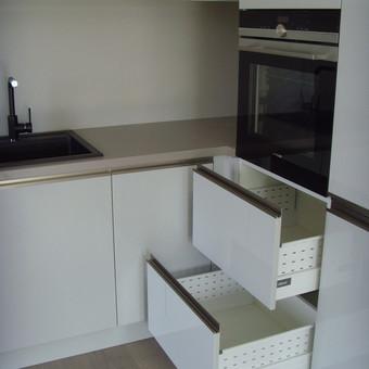 """Virtuvės baldai. Vonios baldai. Akmuo. UAB """"Forestė"""" / Dizainerė Audronė Baldai-Interjeras / Darbų pavyzdys ID 643801"""