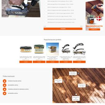 Internetinių svetainių ir el. parduotuvių kūrimas / Marius Zienius / Darbų pavyzdys ID 644121