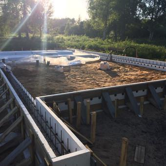 Individualių namų statyba.Karkasinių namų statyba. / Remigijus Valys / Darbų pavyzdys ID 647041