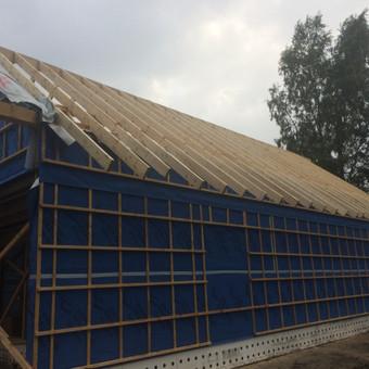 Individualių namų statyba.Karkasinių namų statyba. / Remigijus Valys / Darbų pavyzdys ID 647049