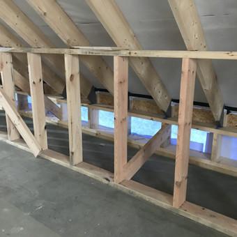 Individualių namų statyba.Karkasinių namų statyba. / Remigijus Valys / Darbų pavyzdys ID 647125