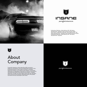 Insane Performance logotipas