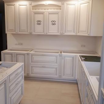 """Virtuvės baldai. Vonios baldai. Akmuo. UAB """"Forestė"""" / Dizainerė Audronė Baldai-Interjeras / Darbų pavyzdys ID 648569"""