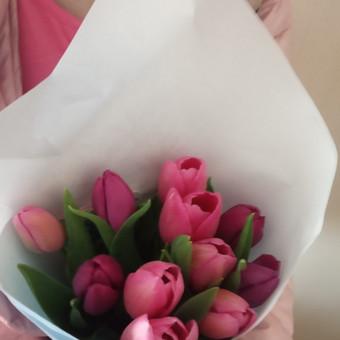 Gėlių pristatymas į namus Klaipėdoje / Floristikos Namai / Darbų pavyzdys ID 648785