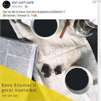 Facebook ir Instagram komunikacija, reklama. / Advertsup / Darbų pavyzdys ID 649497