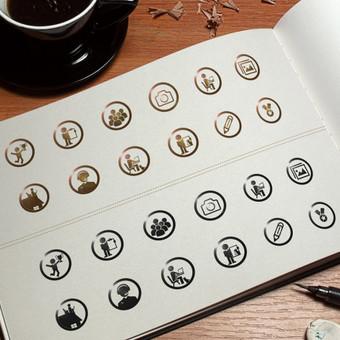 Piktogramų dizaino adaptacija.
