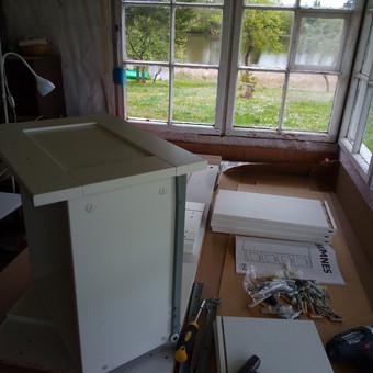 Ikea baldų surinkimas Jūsų namuose