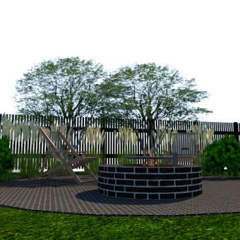 Aplinkos apželdinimo projektavimas / Rolanda / Darbų pavyzdys ID 652043