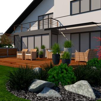Aplinkos apželdinimo projektavimas / Rolanda / Darbų pavyzdys ID 652045