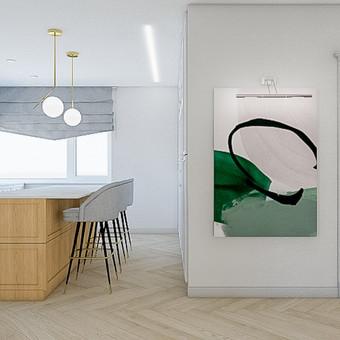 Udizainas - interjero dizainas / Ugnė Stasionė / Darbų pavyzdys ID 653451