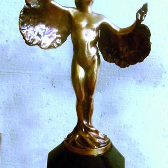 Bronzinė skulptūra, h - 30 cm