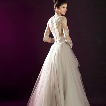 Vestuvinių suknelių siuvimas, prancūziški nėriniai, audiniai / Reda / Darbų pavyzdys ID 657955