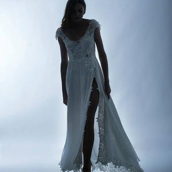 Vestuvinių suknelių siuvimas, prancūziški nėriniai, audiniai / Reda / Darbų pavyzdys ID 657957