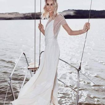 Vestuvinių suknelių siuvimas, prancūziški nėriniai, audiniai / Reda / Darbų pavyzdys ID 657959