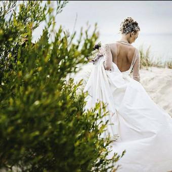 Vestuvinių suknelių siuvimas, prancūziški nėriniai, audiniai / Reda / Darbų pavyzdys ID 657963