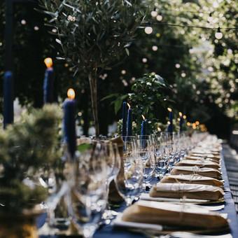 Planavimas, lempučių, tekstilės nuoma, šampano staliukai / Smagilė / Darbų pavyzdys ID 658063