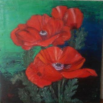 Parduodu tapytus savo paveikslus / Vilija Brazdeikienė / Darbų pavyzdys ID 658095
