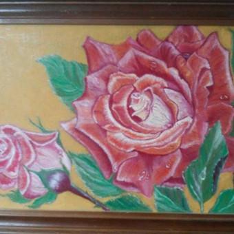 Parduodu tapytus savo paveikslus / Vilija Brazdeikienė / Darbų pavyzdys ID 658103