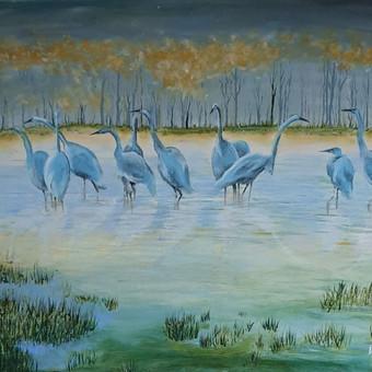 Parduodu tapytus savo paveikslus / Vilija Brazdeikienė / Darbų pavyzdys ID 658115