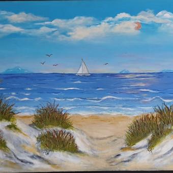 Parduodu tapytus savo paveikslus / Vilija Brazdeikienė / Darbų pavyzdys ID 658121