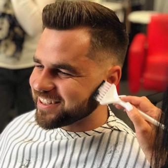 Vyriški kirpimai,barzdų modeliavimas,skutimas. / Loreta / Darbų pavyzdys ID 658135