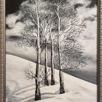 Parduodu tapytus savo paveikslus / Vilija Brazdeikienė / Darbų pavyzdys ID 658137