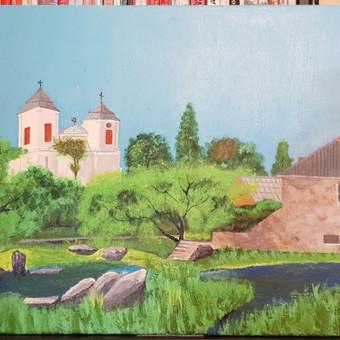 Parduodu tapytus savo paveikslus / Vilija Brazdeikienė / Darbų pavyzdys ID 658143