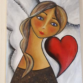Parduodu tapytus savo paveikslus / Vilija Brazdeikienė / Darbų pavyzdys ID 658151