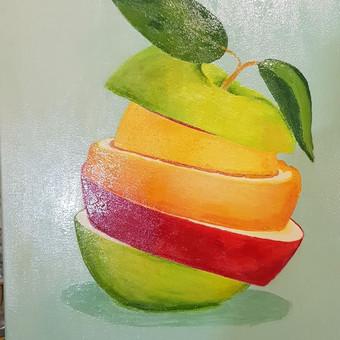Parduodu tapytus savo paveikslus / Vilija Brazdeikienė / Darbų pavyzdys ID 658169