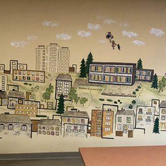 Piešiniai ant sienų/sienų tapyba / Laura Jakutiene / Darbų pavyzdys ID 658239