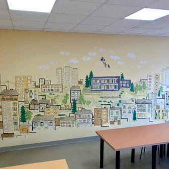 Piešiniai ant sienų/sienų tapyba / Laura Jakutiene / Darbų pavyzdys ID 658241