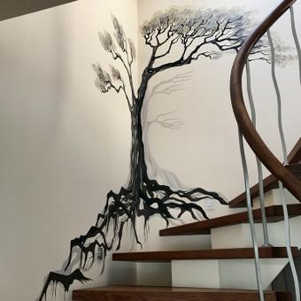 Piešiniai ant sienų/sienų tapyba / Laura Jakutiene / Darbų pavyzdys ID 658243