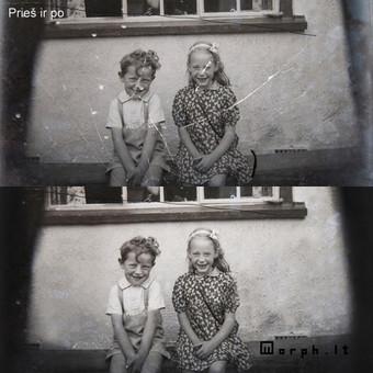 Nuotraukų restauravimas