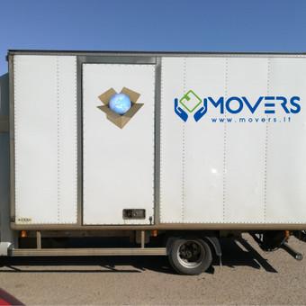 profesionalios perkraustymo paslaugos Biurų -Butų -Namų perkraustymas Paletinių krovinių pervežimas