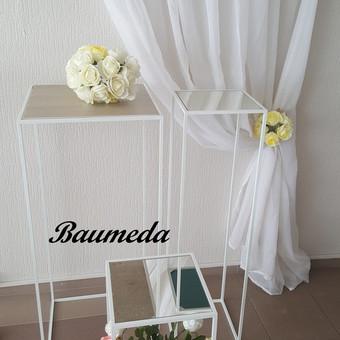 Stoveliai dekoracijoms gėlėms,žvakėms turime  60cm,80cm ir 1m