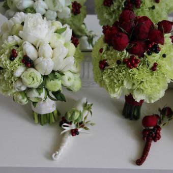 Floristas, gėlių salonas / Oksana / Darbų pavyzdys ID 86394
