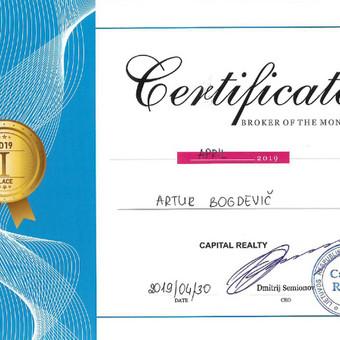 LNTAA sertifikuotas Nekilnojamojo turto brokeris / Artur Bogdevič / Darbų pavyzdys ID 661219