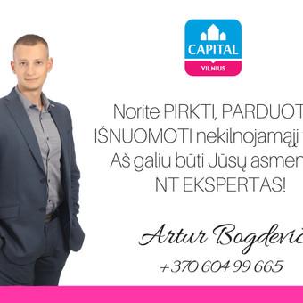 LNTAA sertifikuotas Nekilnojamojo turto brokeris / Artur Bogdevič / Darbų pavyzdys ID 661227