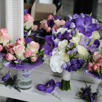 Floristas, gėlių salonas / Oksana / Darbų pavyzdys ID 86389