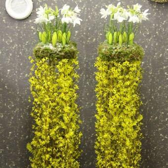 Floristas, gėlių salonas / Oksana / Darbų pavyzdys ID 86396